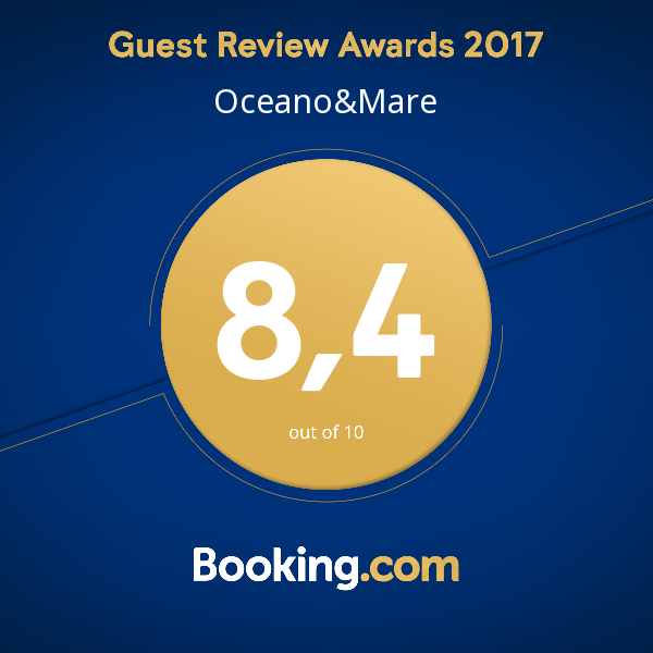 Guest Review Awards 2017 Oceano&Mare