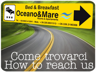 Come arrivare al bed & breakfast - How to reach the b&b